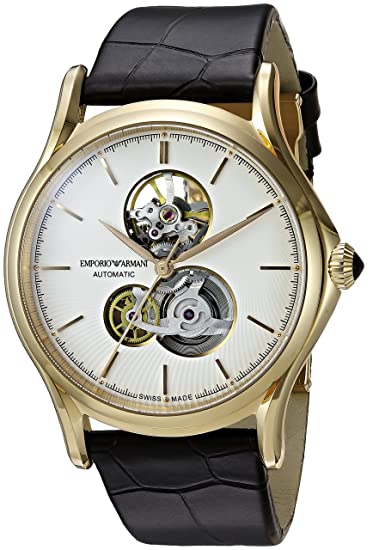 874bbb5f2e2b emporio armani fabricado en Suiza reloj Casual de hombre de piel de   Classic  Swiss