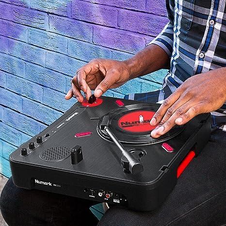 Numark PT01 Scratch - Plato Giradiscos de DJ, para Portabilistas ...