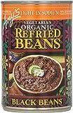 Amy's Vegetarian Organic Refried Beans, Light in Sodium Black, 15.4 oz