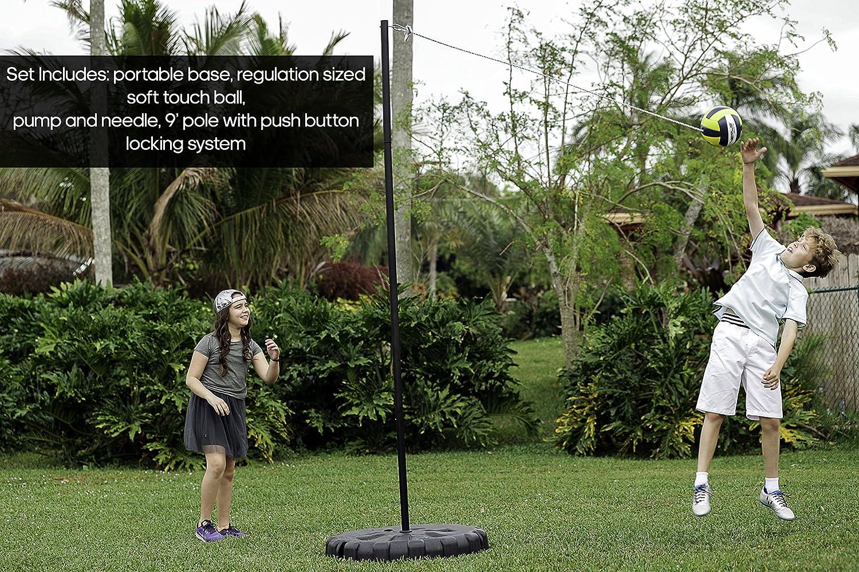 Verus Sports TO511 Portable Tetherball Set