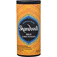 Sharwood's Curry Medio-Picante, en Polvo - 102 gr - , Pack de 6