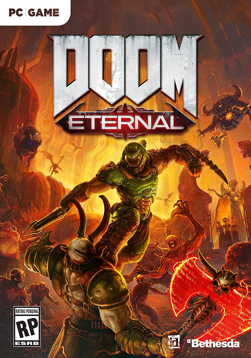 Amazon com: Doom Eternal - PC: Bethesda Softworks Inc: Video Games