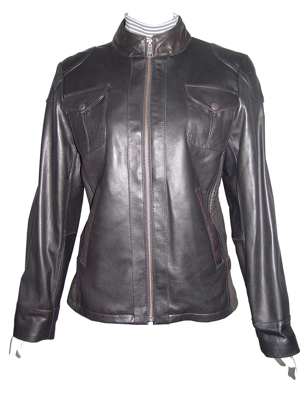 Paccilo WoHerren 4047 Lammskin Real Leder Motorrad Jacke