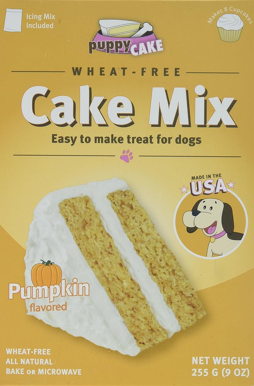 Amazon Puppy Cake Pumpkin Cake Mix And Frosting Wheat Free