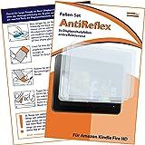 3 x mumbi Displayschutzfolie Amazon Kindle Fire HD (7 Zoll) Schutzfolie AntiReflex antireflektierend (Modell 2012)