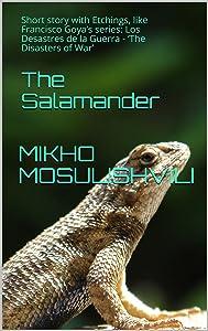 The Salamander: Short story with Etchings, like Francisco Goya's series: Los Desastres de la Guerra - 'The Disasters of War'