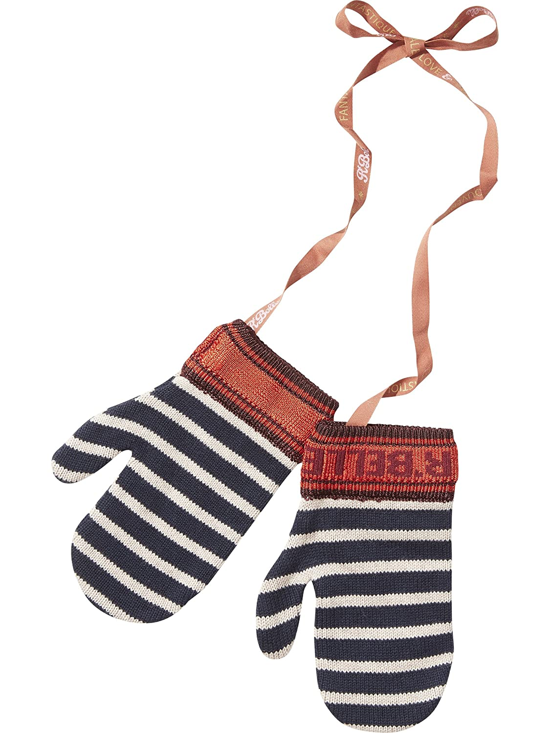 Scotch & Soda Girl's Knitted Stripe Mittens Gloves Scotch & Soda R'Belle 140496