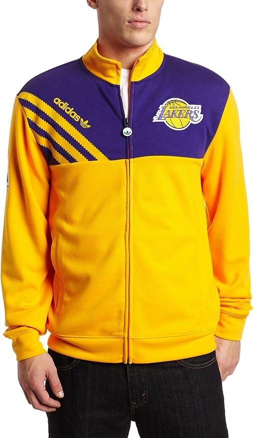 adidas NBA Los Angeles Lakers On Court Track Jacket, Herren