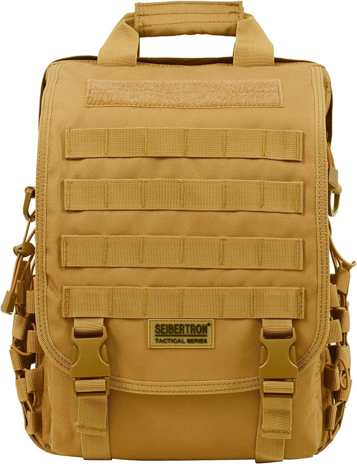 Seibertron waterproof Molle Tactical Laptop Sling BAG Backpack