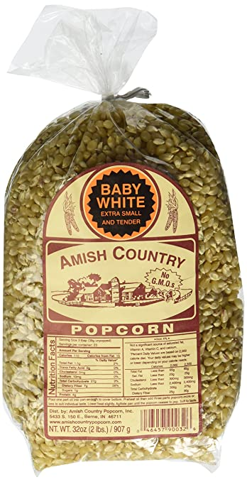 Baby White Amish Country Popcorn