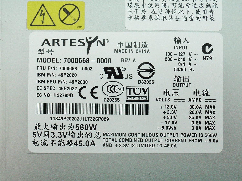 49P2038 Renewed IBM Powersupply 560W