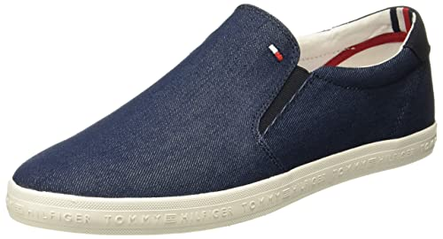 8bb5243e0203 Tommy Hilfiger Men s Midnight Sneakers - 8 UK India (42 EU)(P8AMF121 ...
