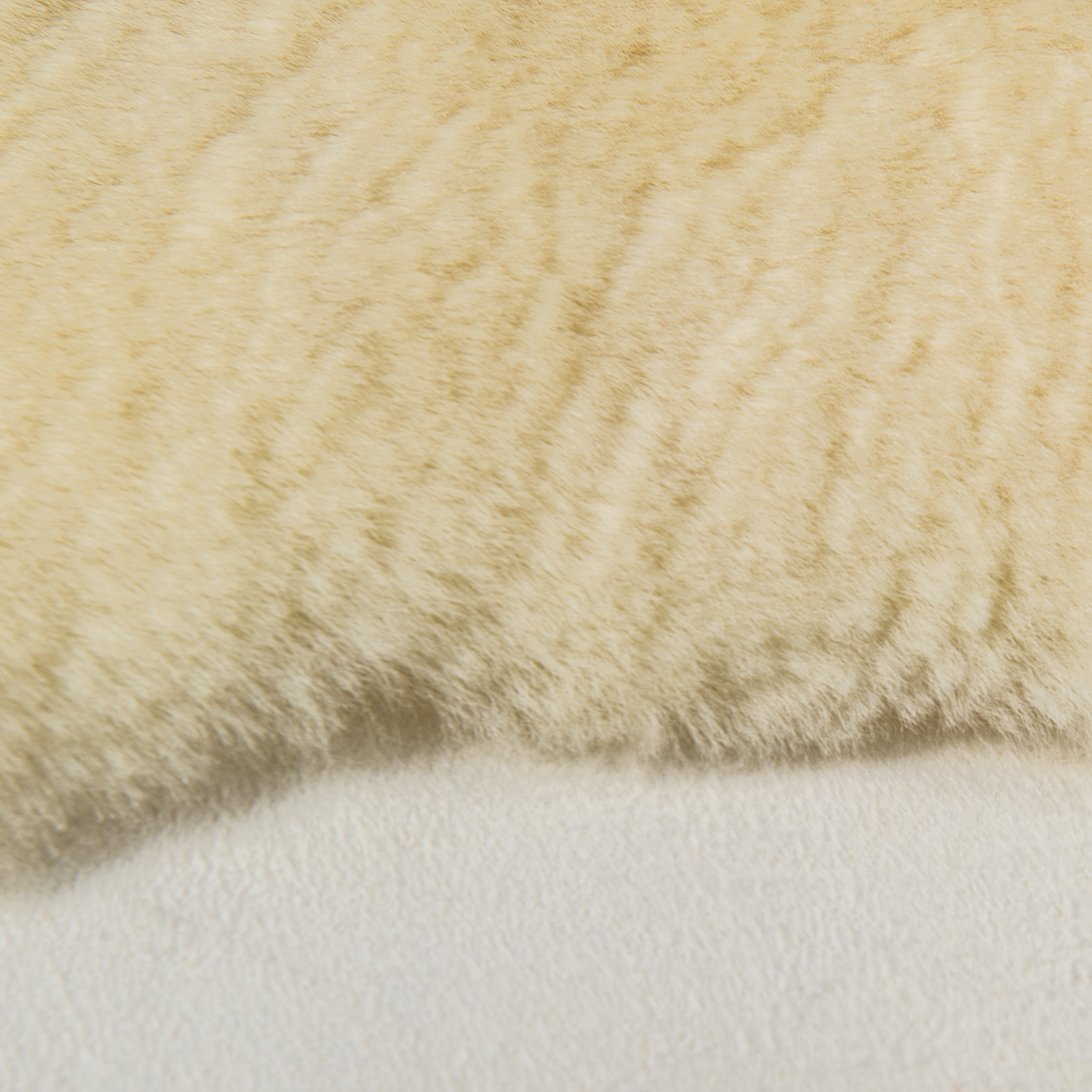 DMI Natural Sheepskin Wool Comfort Mattress Bed Pad Bed Mat, Washable, 8 to 9 Square Feet, Beige by Briggs (Image #5)