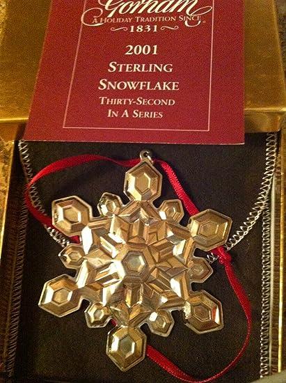 Gorham Snowflake Sterling Christmas Ornament 32nd Edition - Amazon.com: Gorham Snowflake Sterling Christmas Ornament 32nd