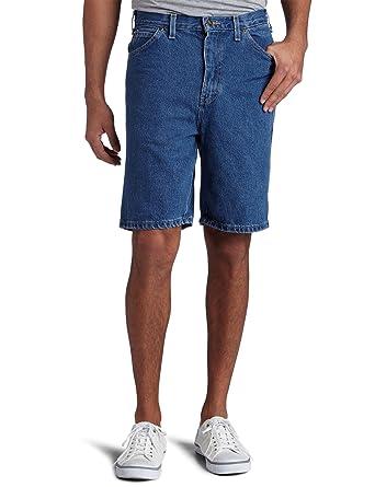 Mens Denim Shorts 8 Inch Inseam