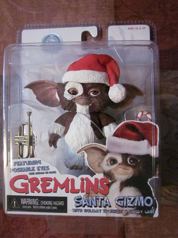 Gremlins Gizmo figura exclusiva de Santa: Amazon.es: Juguetes y juegos