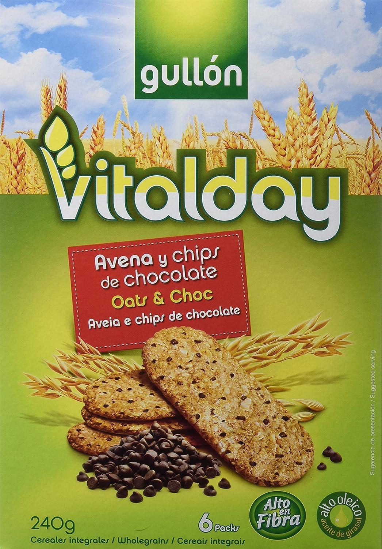 Vitalday Desayuno Avena Y Choco Gullón - 240 g: Amazon.es ...