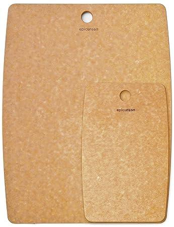 Amazon.com: Epicurean - Tabla de cortar para cocina, fibra ...