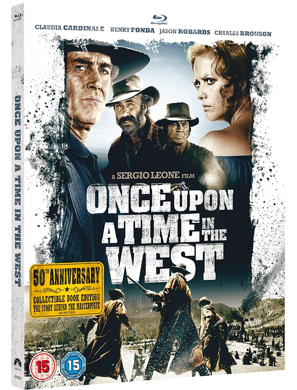 Once Upon A Time In The West 50Th Anniversary Edition Edizione: Regno Unito Italia Blu-ray: Amazon.es: Claudia Cardinale, Henry Fonda, Jason Robards, Charles Bronson, Gabriele Ferzetti, Paolo Stoppa, Woody Strode, Jack Elam,
