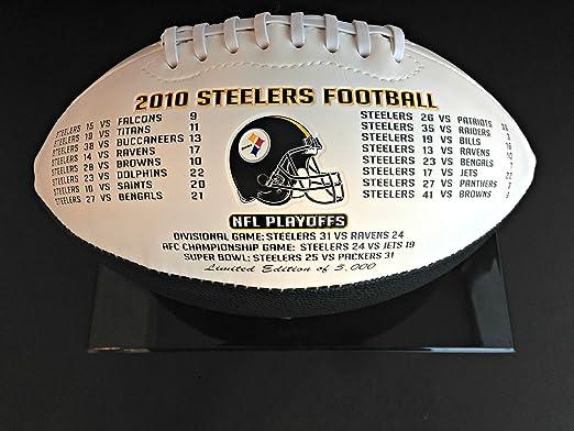 מתוחכם Amazon.com: 2010 Pittsburgh Steelers AFC Championship Football VC-21