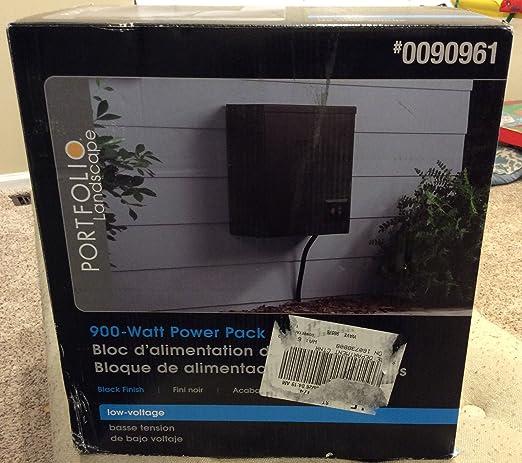 Portfolio 900 watt 120 volts multi tap transformer landscape portfolio 900 watt 120 volts multi tap transformer landscape lighting transformer with digital timer aloadofball Images
