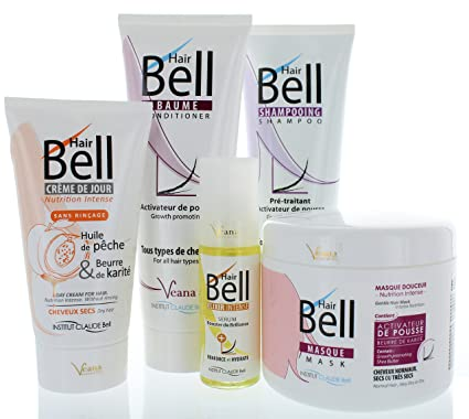 Hairbell Champú + Conditioner + Máscara + haircream + Serum