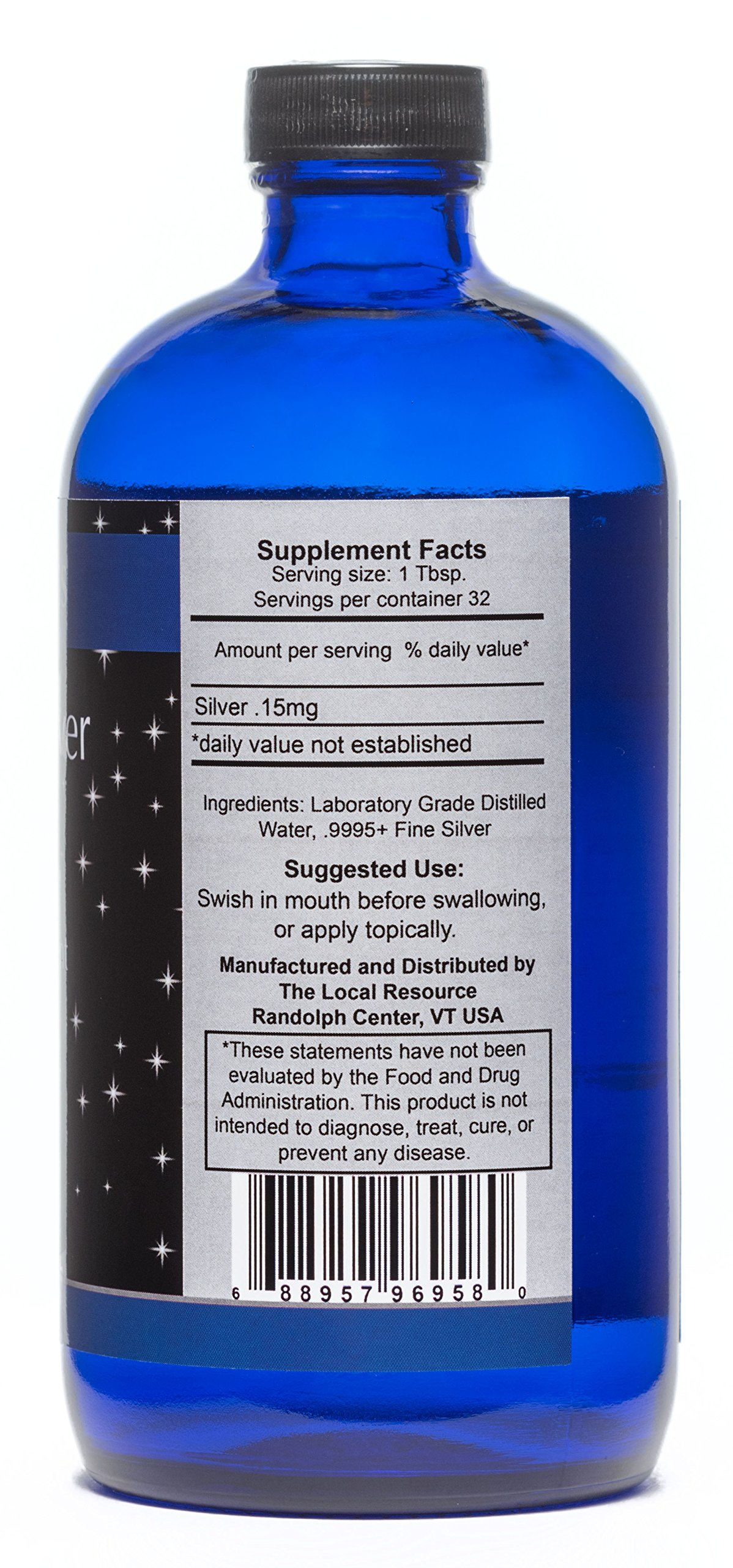 Silver Linings Colloidal Silver Hydrosol, 10 PPM, A Powerful Natural Antibiotic, and Preventative Measure Against Infection, Immune Support, Safe for Adults, Kids, Pets, and Plants, 16 oz by Silver Linings (Image #2)