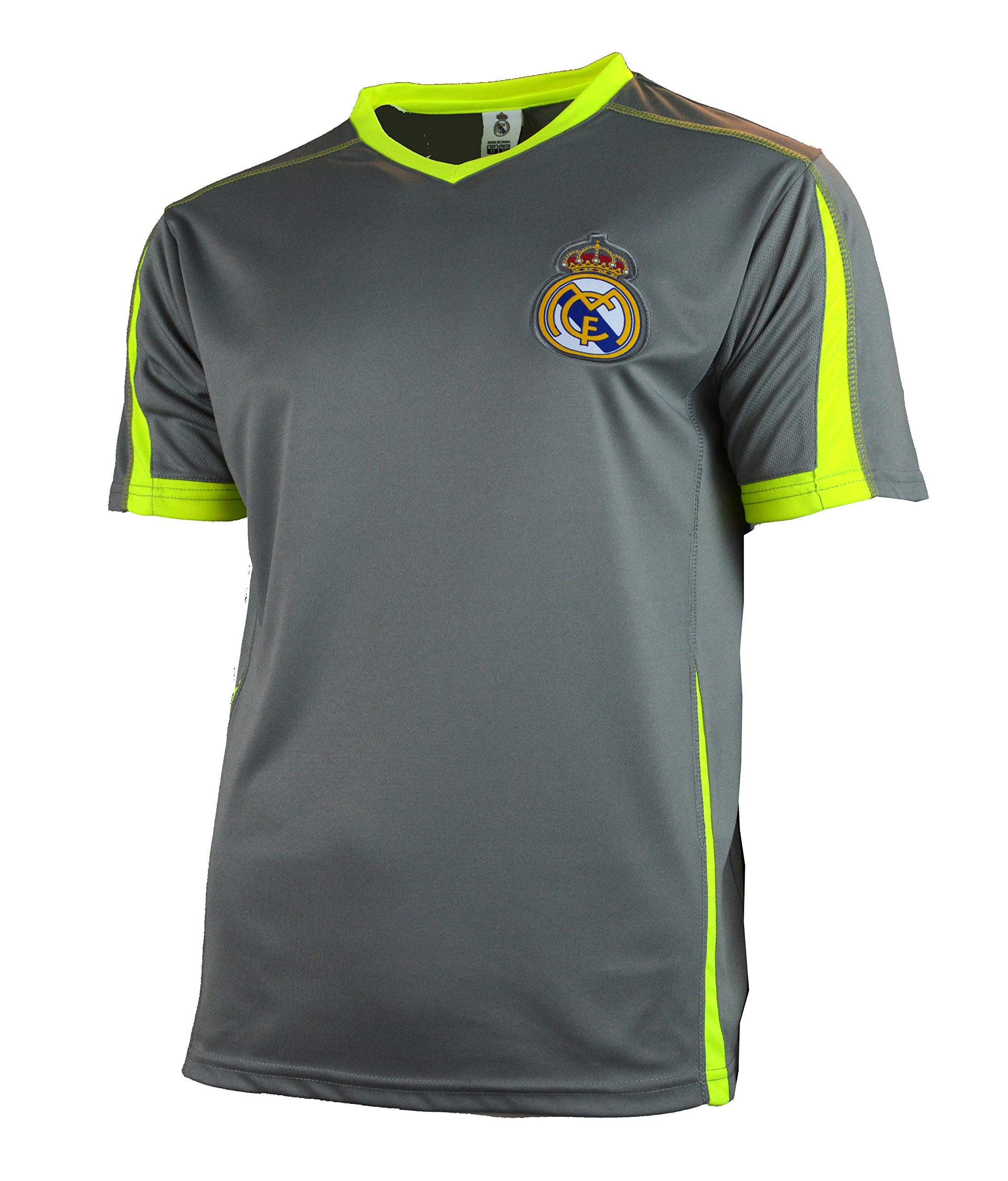 45d645172 Real Madrid Fc Soccer Jersey Adult Training Add Any Name and Number –  Custom Name and Number Ronaldo 7 Misc.