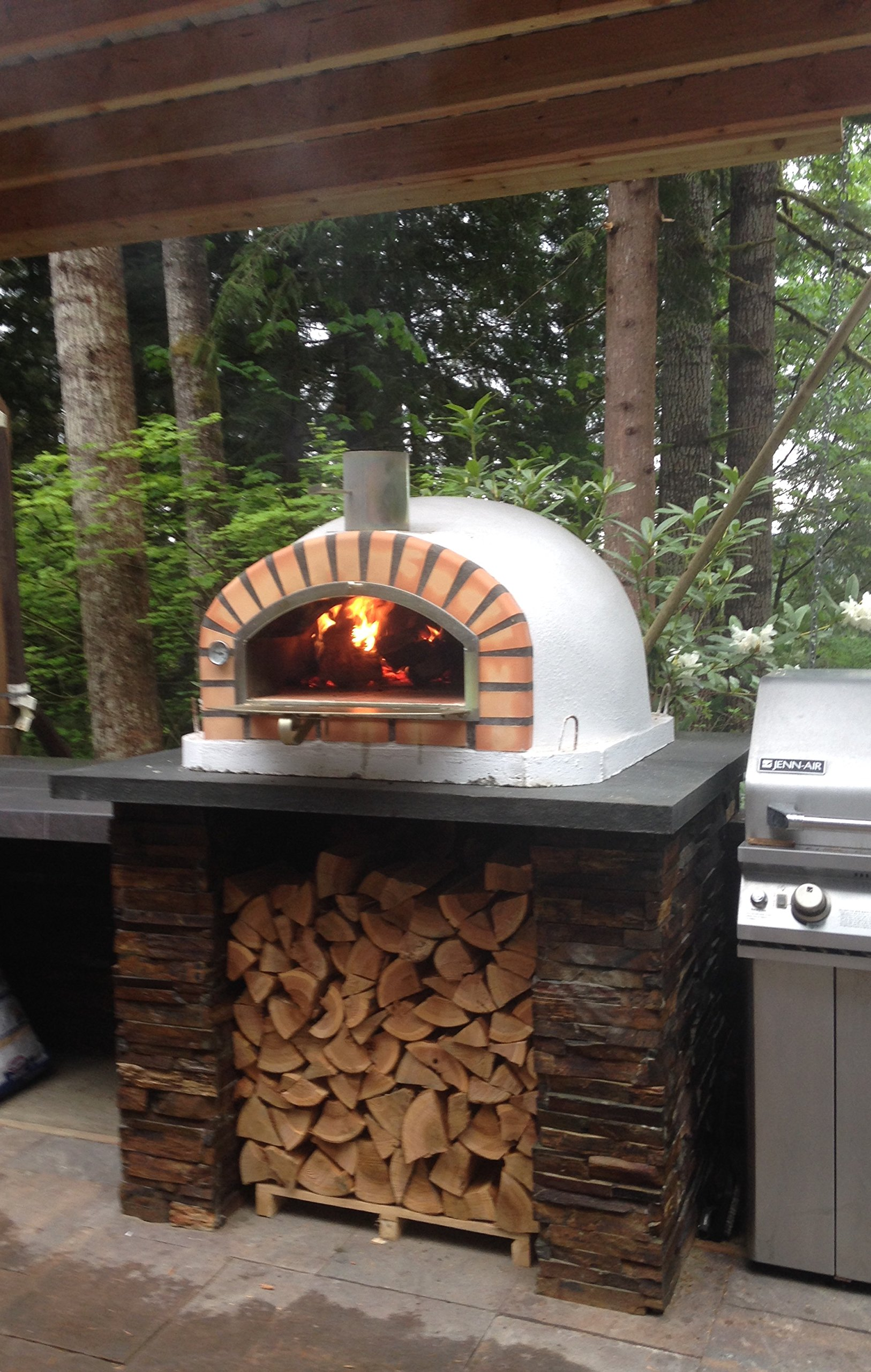 Authentic Pizza Ovens Traditional Brick Pizzaioli Wood ...