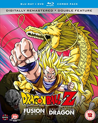 Dragon Ball Z Movie Collection Six: Fusion Reborn/ Wrath of the ...