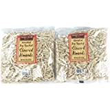 Trader Joe's Unsalted, Dry Toasted Slivered Almonds (Pack of 2)
