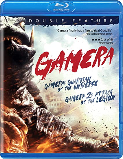 Amazon Com Gamera Guardian Of Universe Gamera Attack Of Blu Ray Gamera Miki Mizuno Various Cine Y Tv