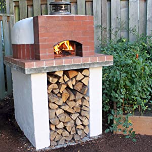 "Pizza Oven Kit • Dome-Shaped Outdoor Forno • The Lowest Priced 28"" Pizza Oven is made from our DIY Pizza Oven Foam Mold, Stainless Steel Concrete Fibers & locally sourced Castable Refractory Cement."