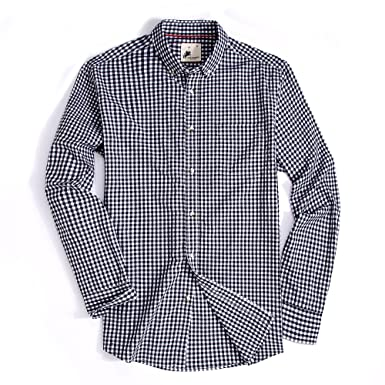 alex vando mens casual button down regular fit long sleeve oxford