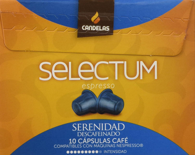 Cafés Candelas Café Serenidad Selectum - 10 cápsulas: Amazon.es ...