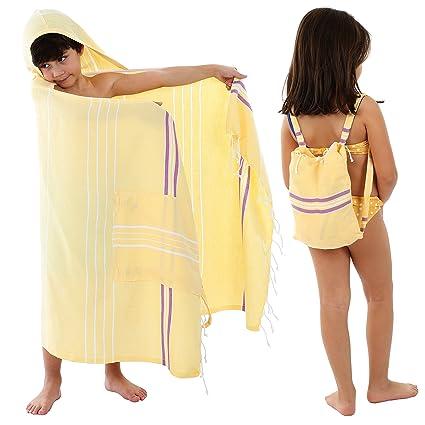 bad3fe9835 Amazon.com  Cacala Pure Series 3-in-1 Peshtemal Turkish Bath Towel ...