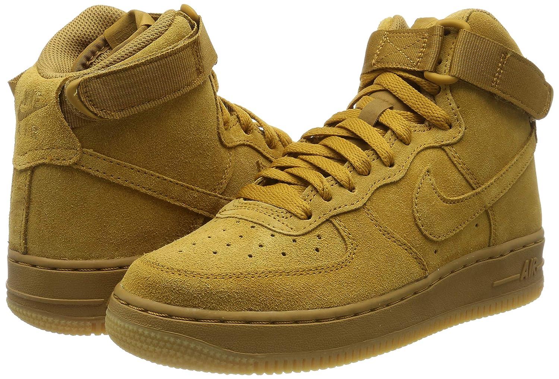 Nike Air Force 1 High Lv8 (GS), Zapatillas de Deporte para