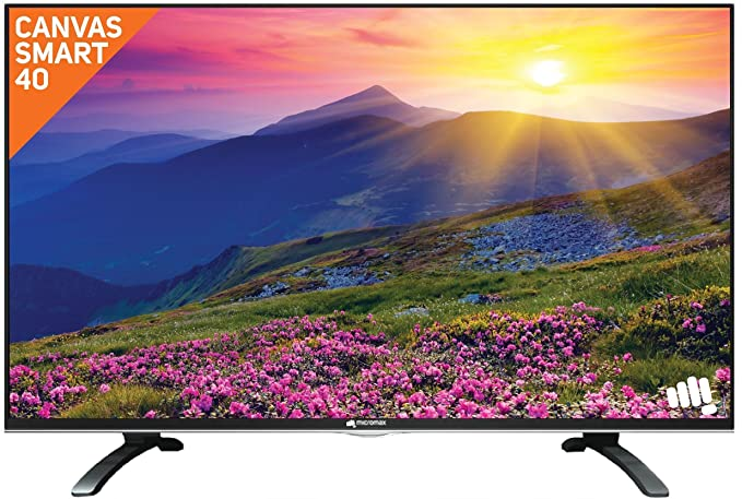 Micromax 101 cm  40 Inches  Full HD LED Smart TV 40 Canvas SI  Black  Smart Televisions