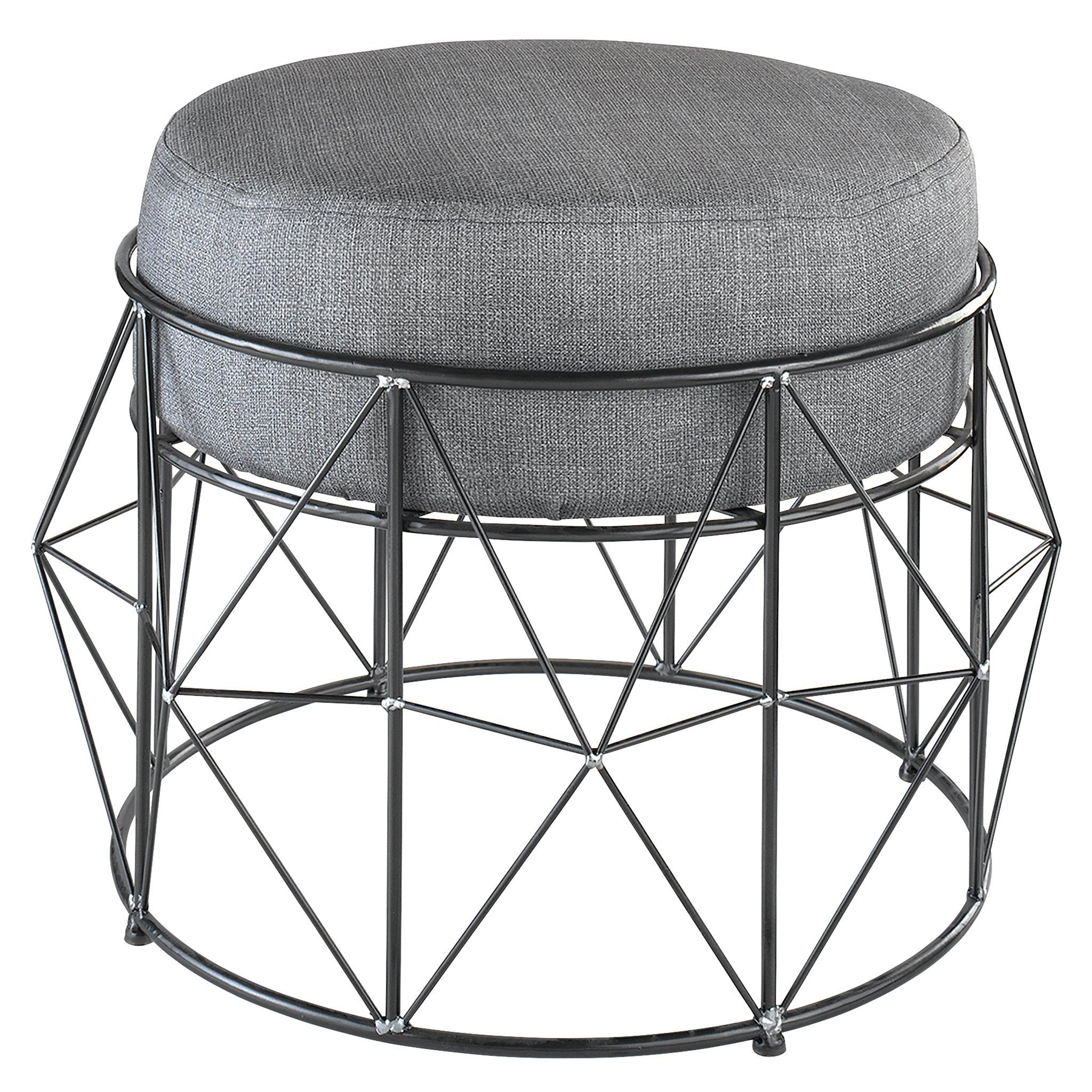 Design Toscano FU81805 Eero Geometric Vanity Chair
