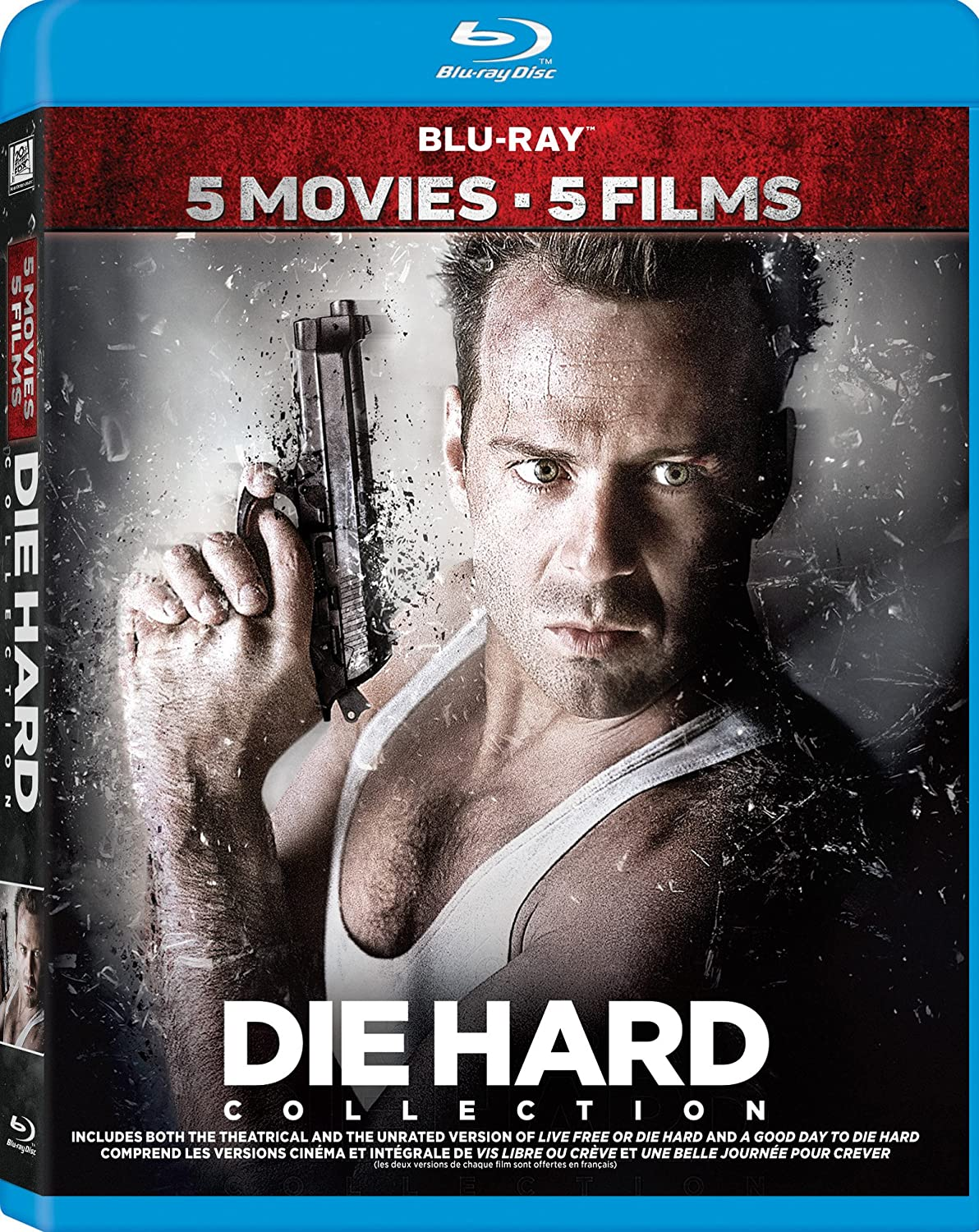 Die Hard Movie Collection (Bilingual) [Blu-ray] Bruce Willis Fox John McTiernan 20th Century Fox