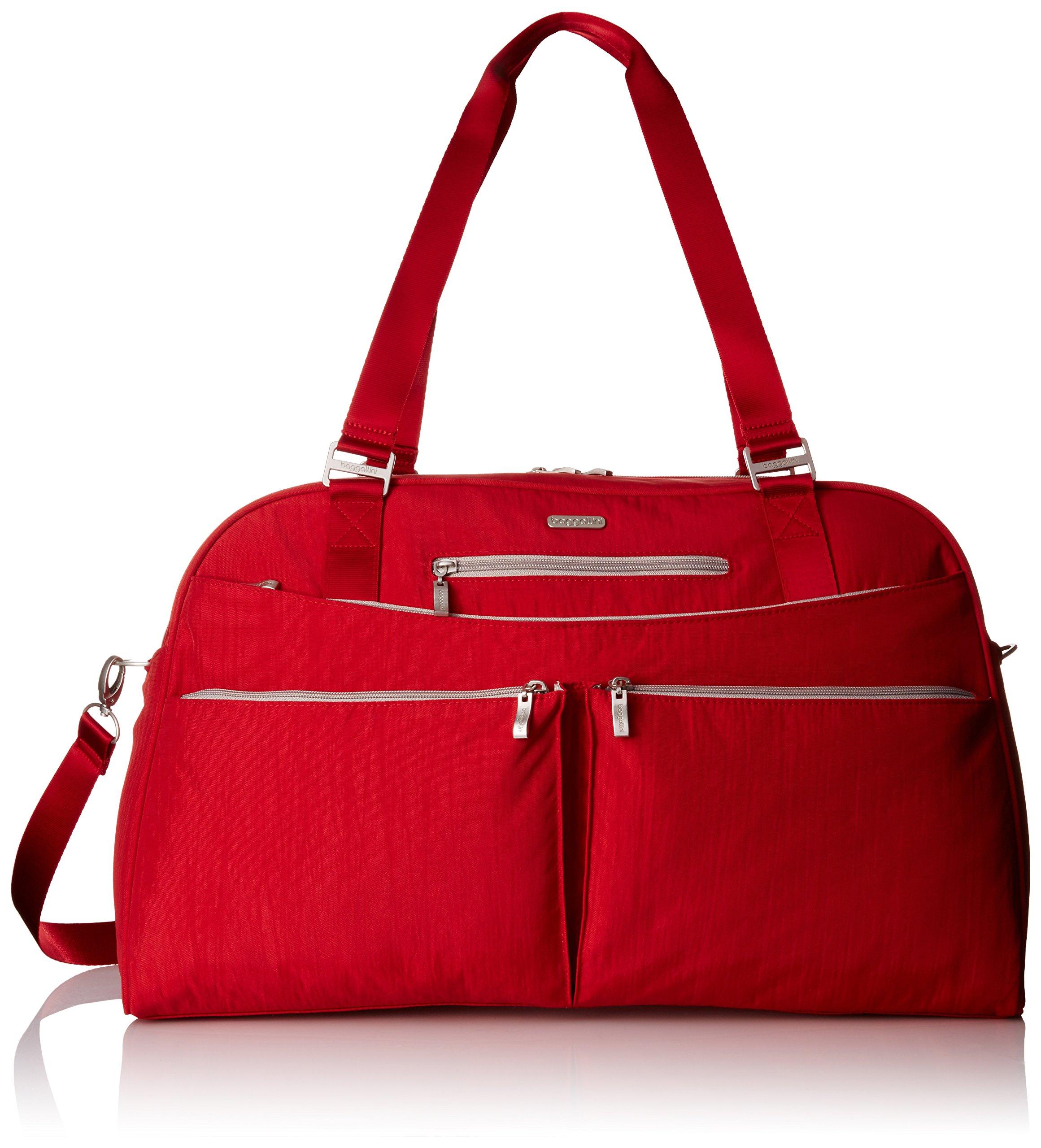 Baggallini Weekender Travel Tote Bag, Apple, One Size