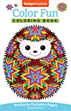 Color Fun Coloring Book: Perfectly Portable Pages (On-the-Go Coloring Book) (Design Originals) Extra-Thick High-Quality…