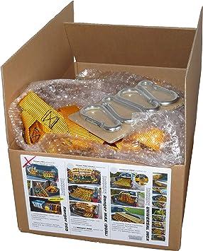 Rete portellone Posteriore Ranger-PRO per paraurti Adatta per Ford Ranger Cargo e carico SCHNEIDMEISTER TRUCKBEDMASTER Manager della Spesa e fermaporta
