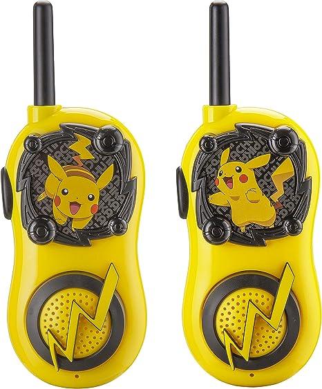 eKids Pokemon Walkie Talkies Pikachu Toys FRS Walkie Talkies