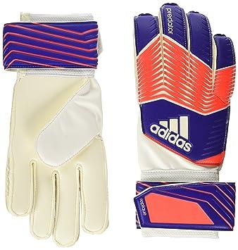 6aab717d84fbe adidas Predator - Guantes de Portero de fútbol para niños (con Protector de  Dedos) Talla 6