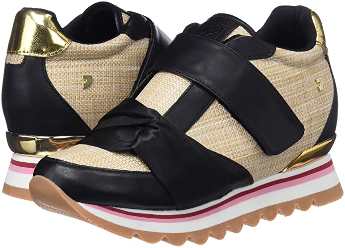 Amazon.com | Gioseppo Shoes Woman Sneakers high 43379 Black | Fashion Sneakers