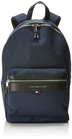 Tommy Hilfiger Elevated Backpack, Mens Blue (Tommy Navy/Core Stp), 14x47x28