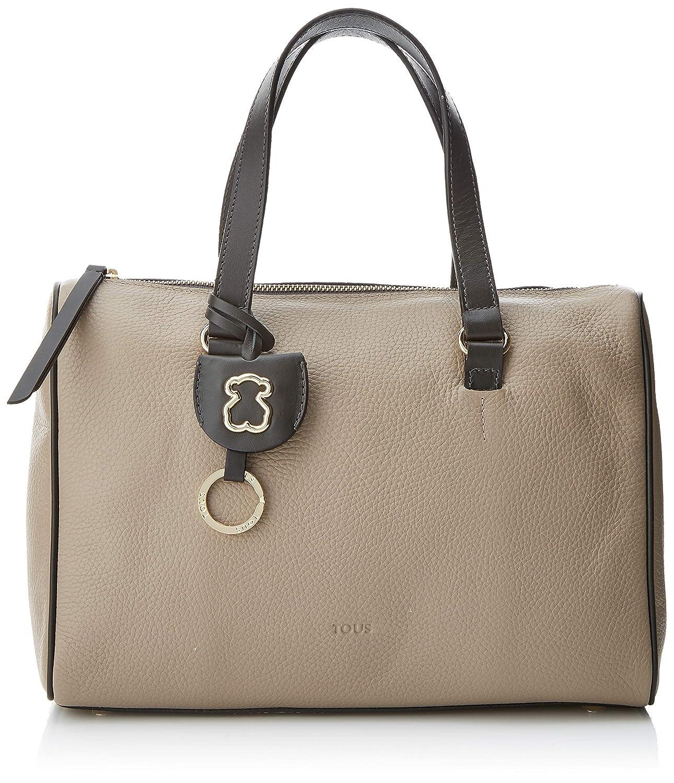 Tous Bowling Arisa, Bolso Bolera para Mujer, Multicolor (Grey), 9x21x31 cm (W x H x L): Amazon.es: Zapatos y complementos