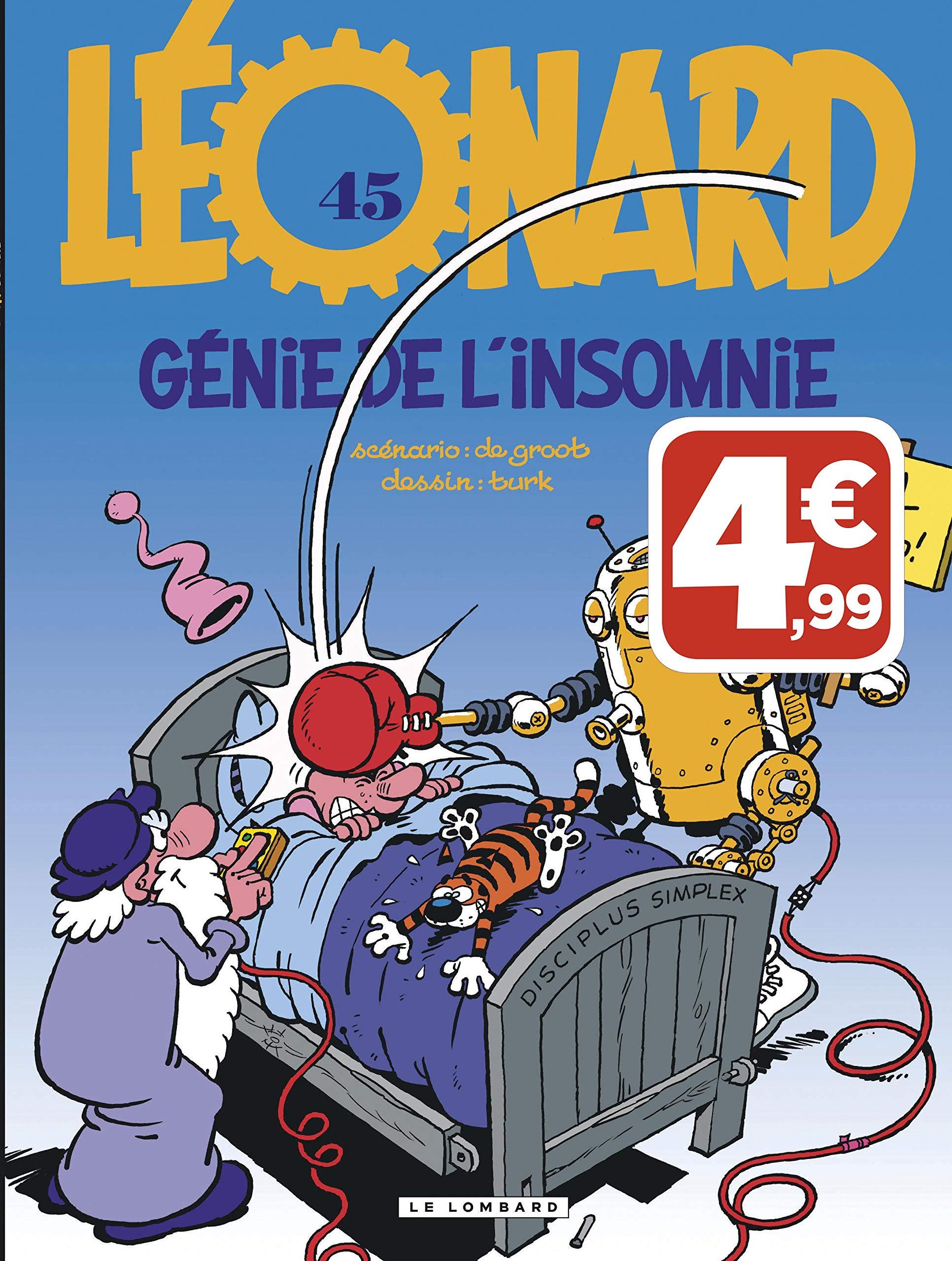 502a84d164415 Amazon.fr - Léonard - tome 45 - Génie de l'insomnie - De Groot, Turk -  Livres