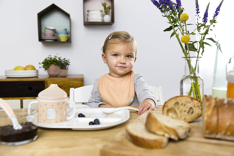 Dish Set Little Spooky Teller, Sch/üssel, Tasse, Besteck Melamin L/ÄSSIG Kindergeschirr Set Junge und M/ädchen